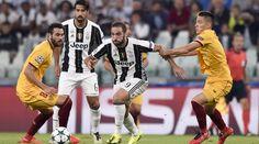 La Champions Juve frena: Higuain si ferma alla traversa, Alex Sandro sul…