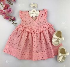 By far the most delightful looking for new bundle of joy love clothing, find all of the facts like p j's, entire body suits, bibs, plus much more. Baby Girl Frocks, Frocks For Girls, Baby Girl Party Dresses, Dresses Kids Girl, Little Dresses, Kids Outfits, Baby Girl Dress Patterns, Baby Dress Design, Children's Dress Patterns
