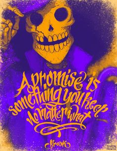 A promise is something you keep/Brook/One piece