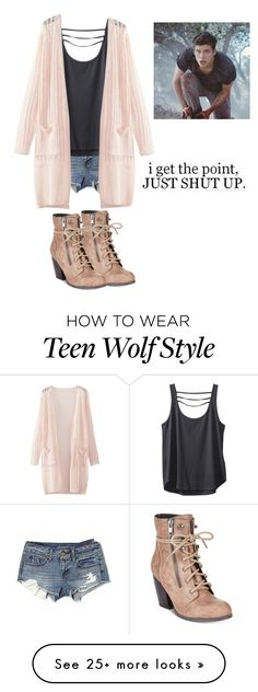 """Isaac Lahey inspired outfit"" by maliahennig on Polyvore featuring American Eagle Outfitters, Mojo Moxy, Kavu and WithChic"