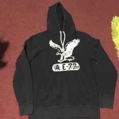 American eagle hoodie American eagle sweat shirt navy blue American Eagle Outfitters Jackets & Coats