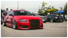 played out audi a3 bagged
