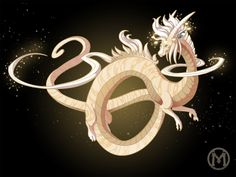 Dragon-A-Day JAN8 - Saturn by Mythka on DeviantArt