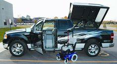Eureka Solutions - PowerTopper Vehicle conversion Adaptation automobile 1-866-562-2555