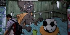 World Cup 2014: 14 Powerful Pictures Of Anti-Fifa Graffiti In Brazil