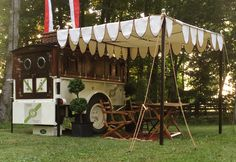 Polo team tent- complete with bar.  Roseview Farms, Millbrook, NY- Wellington FL.
