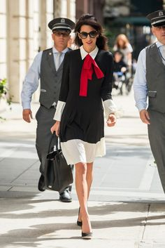 Amal Clooney's Style File