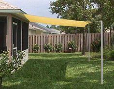 easy to do yard shade | Outdoor+patio+shades