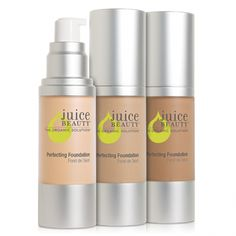 Check out my sisters makeup website for all the best natural products to best high end to drug store products that best fit your skin type:):):) current article about the Juice Beauty Foundation:)  http://makeupheaven.siterubix.com/category/foundations