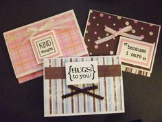 Cute thinking of you cards.... for any occasion.  $6.00