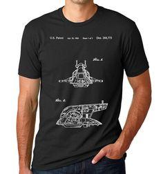 Star Wars Slave One Patent T Shirt, Boba Fett, Star Wars Shirt, Star Wars T Shirt, Starwars Gift, Starwars Shirt
