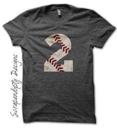 Baseball Number Iron on Transfer Iron on by ScrapendipityDesigns