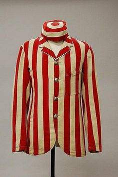 rare boating blazer and matching cap, probably Guard's Boating Club, late 19th century, labelled Farrell & Sons, Camberley