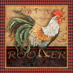 I uploaded new artwork to fineartamerica.com! - 'Ruler of the Roost-3' - http://fineartamerica.com/featured/ruler-of-the-roost-3-jean-plout.html via @fineartamerica