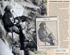 Opening Zion - girls climbing 1920