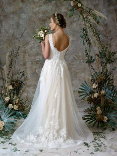 Soft satin slip with lovely soft tulle over dress. Have two looks for your big day Charlotte Balbier, Bridal Separates, Ethereal Beauty, Satin Slip, Big Day, Wedding Gowns, Tulle, Collection, Fashion