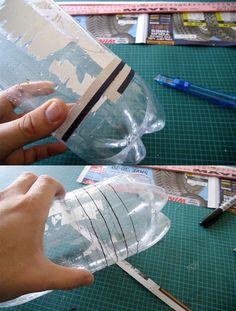 Plastic bottle to unclog drains