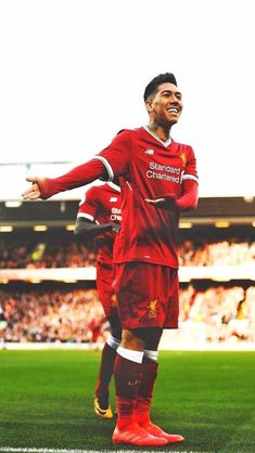 One of the greatest sporting events in the world is soccer, generally known as football in numerous nations around the world. Anfield Liverpool, Liverpool Players, Liverpool Football Club, Football Celebrations, This Is Anfield, Fc Chelsea, You'll Never Walk Alone, Soccer Stars, Football Wallpaper