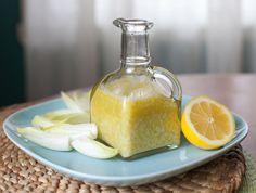 Creamy Buttermilk Salad Dressing: buttermilk, mayo, olive oil, lemon, garlic, pepper & onion powder