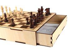 Picture of Secret Compartment Chess Set http://www.instructables.com/id/Secret-Compartment-Chess-Set/