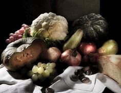 natura morta o dieta mediterranea ....