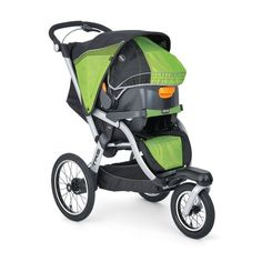The versatile Chicco TRE Jogging Stroller is the perfect stroller for fitness fans. It features waterproof materials and a canopy that can extend to offer full coverage in any weather.
