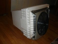 How to make a tent air conditioner for under $20 - we already have the stuff to make this!  AWESOME!