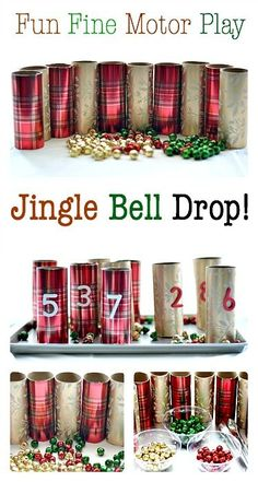 How to Strengthen Fine Motor Skills with Jingle Bells