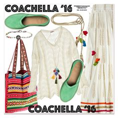 """Hot Coachella Style"" by paculi ❤ liked on Polyvore featuring Calypso St. Barth, ADA Collection, bluma project, Bettina Duncan and bestofcoachella"