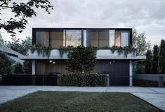 Sleek Bennelong duplex residence by Ess Lifestyle. This one has been on the back burner for a while. Townhouse Designs, Duplex House Design, Modern House Design, Residential Architecture, Contemporary Architecture, Architecture Design, House Cladding, Facade House, Facade Design