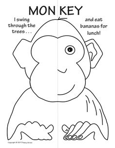 Zoo Animals Symmetry Activity Coloring Pages!