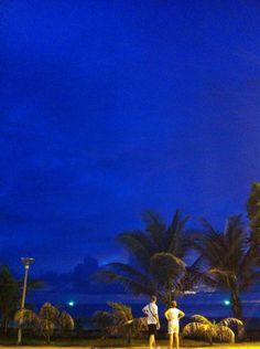 Evening time on Karon Beach, Phuket