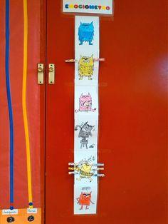 Emocionario del cuento el monstruo de colores. Como me encuentro hoy? http://colesanpedroprimero.blogspot.com.es/2014_10_01_archive.html
