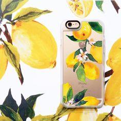 Fruit iPhone 6s & 6s Plus Case (Watercolor Lemon Blossoms Pattern) by Casetify