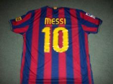 2009 2010 Barcelona Messi Home Football Shirt Adults XL Camiseta Argentina  Barcelona Shirt 353960de052f3