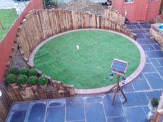 Circular artificial lawn Circular Lawn, Beautiful Images, Garden Ideas, Patio Ideas, Garden Design, Outdoor Decor, Nature, Lawns, Gardening