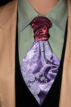 """Save 33% with promo code TIEGUY33 for this beauty Sterling Scott Necktie called """"Amethyst Bloom"""""""