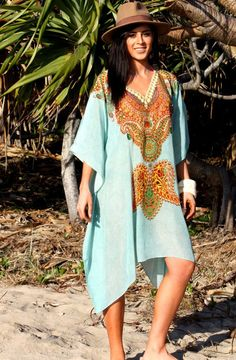 19c9a4b8f3 Blue Grove Kaftan has arrived. Coastal Lifestyle · Beach Dresses