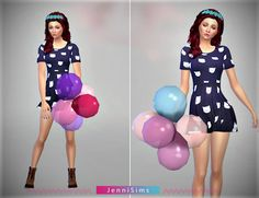 My Sims 4 Blog: Accessory Balloons by JenniSims