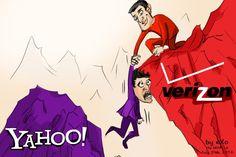 #Cartoon of the Week – #Verizon Finalizes $4.8 billion #Yahoo #Deal  #finance #Tech #News #Amazing #Technology #Searchengine #SEO #SocialMedia #Software #Internet #Web #Digital