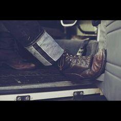 Selvedge denim & boots #selvedge #denimheads #denim #denimstyle #