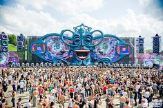 Tomorrowland music festival in Belgium