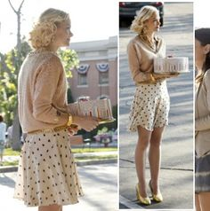 "Lemon Breeland style from tv show ""Hart of Dixie"" inspiration from http://Facebook.com/MissBlossomDesign #ladylike #fashion"