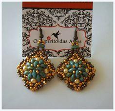 """DIY - """"Mouraria"""" Earrings"""
