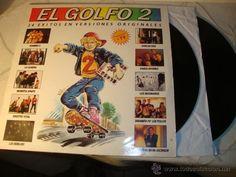 DISCO DOBLE EL GOLFO 2 - 24 EXITOS EN VERSIONES ORIGINALES - 2 x LP - AÑO 1990, LOT24