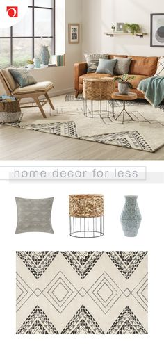 Cheap Home Decor .Cheap Home Decor Boho Living Room, Interior Design Living Room, Home And Living, Living Room Designs, Living Room Decor, Bedroom Decor, Modern Living, Cozy Living, Design Bedroom
