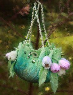 Женские сумки ручной работы. Ярмарка Мастеров - ручная работа ранние тюльпаны. Handmade.
