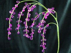 Beaded Bouquet - Pink [ZA-FL10-07-PUR]