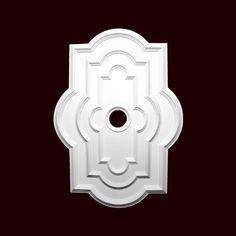 "Ceiling Medallion 50"" by 31 Inch Quatrefoil rectangle by Chemcrest # RM37568-3850 Primed White Polyurethane ChemCrest Inc.,http://www.amazon.com/dp/B00IZ2G23E/ref=cm_sw_r_pi_dp_kpPBtb13WXAK6QEA"