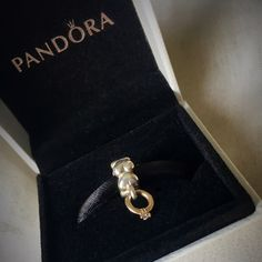 New In Box! Pandora Diamond Ring Dangle Charm  New in original Pandora box! The PANDORA dangle charm diamond ring! Sterling silver charm with heart details with a 14k gold diamond ring dangle charm, which has a tiny real diamond! Gorgeous and classic charm. Beautiful gift for someone newly engaged or married... Or if you just want a little extra bling on your bracelet!  Pandora Jewelry